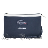 "Косметичка Lacoste ""Double Pocket"" 4 Цвета Синий"