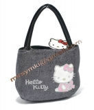 Сумка Hello Kitty black trunk bag