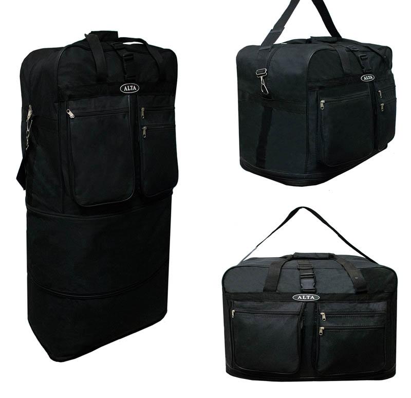 5b75bdf8a7c4 Сумки   Вместительная дорожная сумка трансформер. Цвет Черный ...