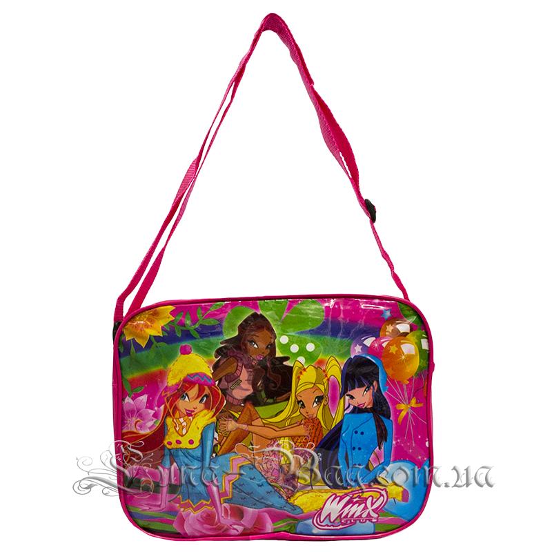 c9679b4780cb Стильная детская сумка через плечо с (Защитницами Winx ) Цвет розовый