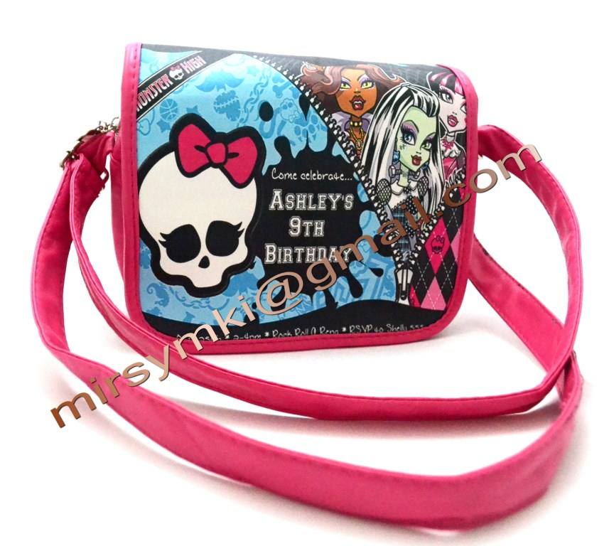 Сумка Monster High Ketti nyar pink