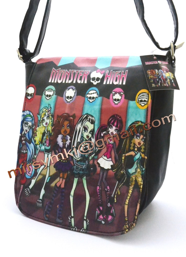 Сумка Monster High Venus Mcfly black