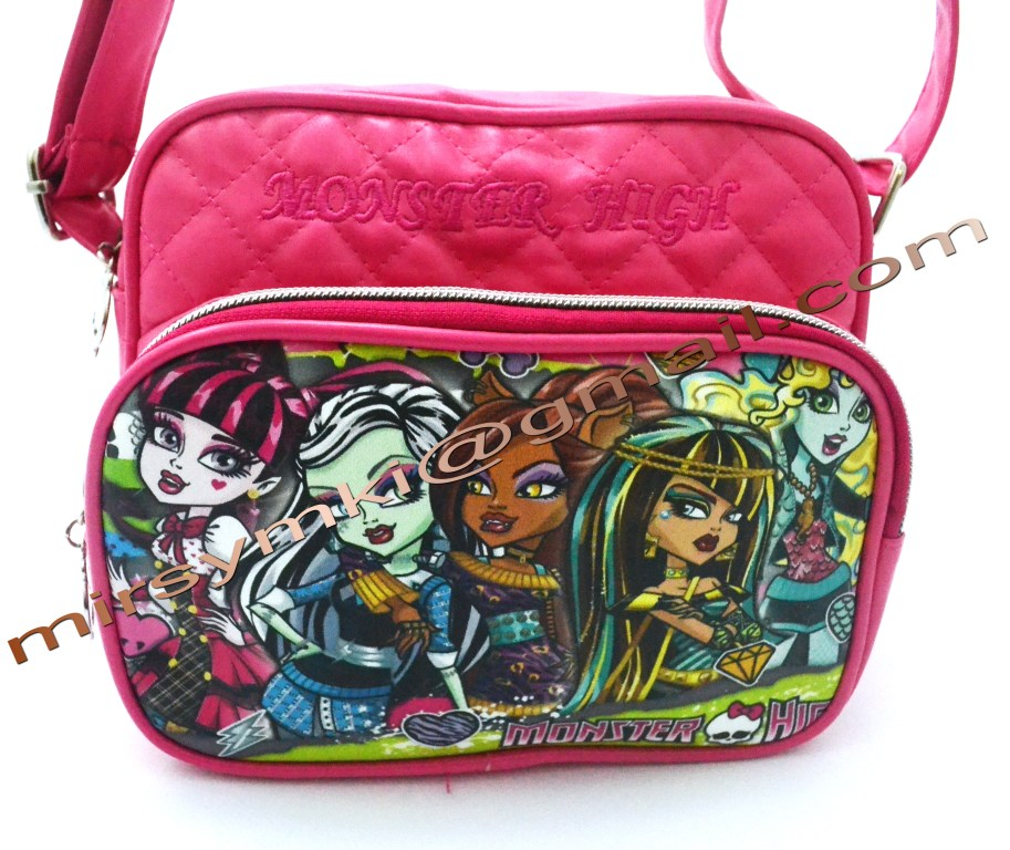 Сумка Monster High clawdin wolf pink