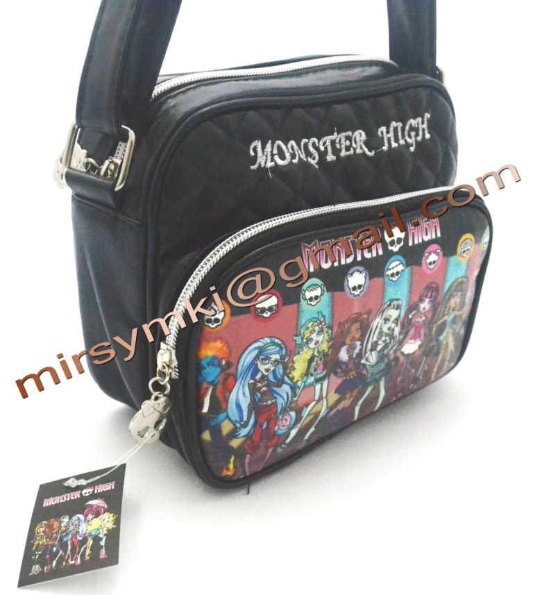 Сумка Monster High clawdin wolf black