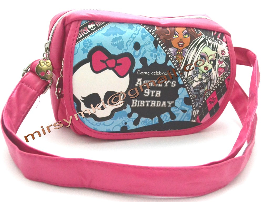 Сумка Monster High choulia pink