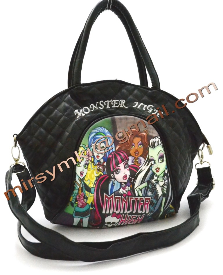 Сумка Monster High howleen black