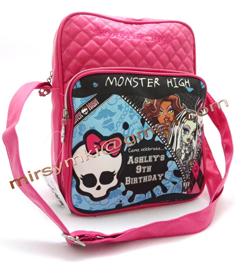 Сумка Monster High scarah pink