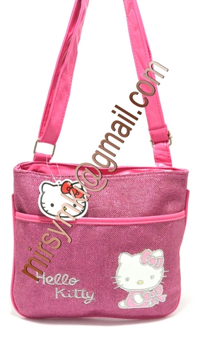 Сумка Hello Kitty dark pink pad