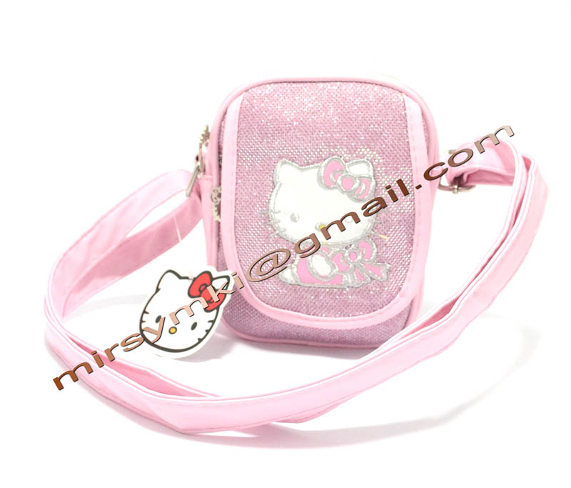 Сумка Hello Kitty light pink cover with zipper