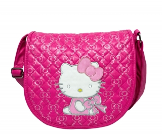 Сумка Hello Kitty Glamour 3 Цвета Малиновый
